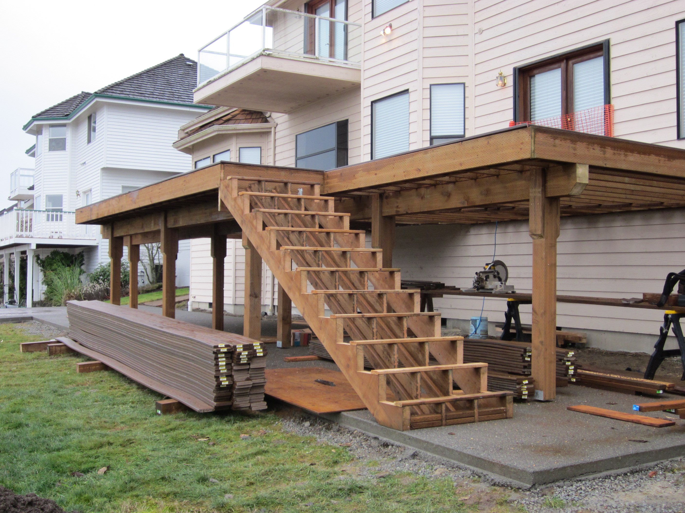 Deck Design? Building a deck? Here's some food for thought ... on Patio Structure Designs id=34404